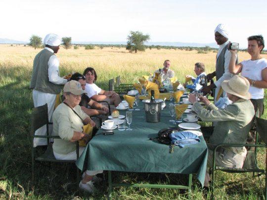 Bush-Lunch