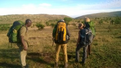 Serengeti back packing 4
